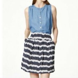 Ann Taylor Loft Linen Skirt NWOT